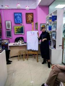 Наталия Бутенко - ведущая рунического мастер-класса
